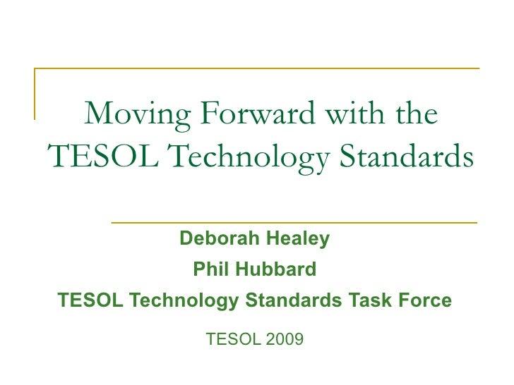 Technology Standards Tesol09