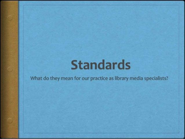 What is a standard?http://www.flickr.com/photos/pinksherbet/3892279527/
