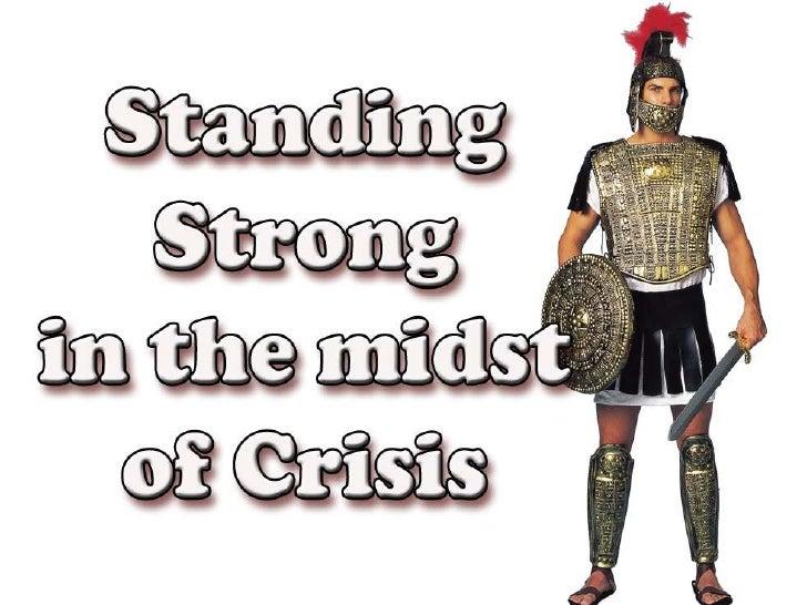 Standing Strong Sermon 6 (English)