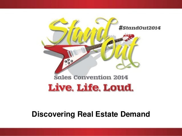 Stand out demand