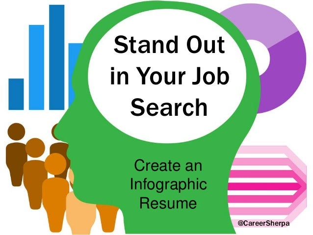 Stand Out in Your Job Search Create an Infographic Resume @CareerSherpa
