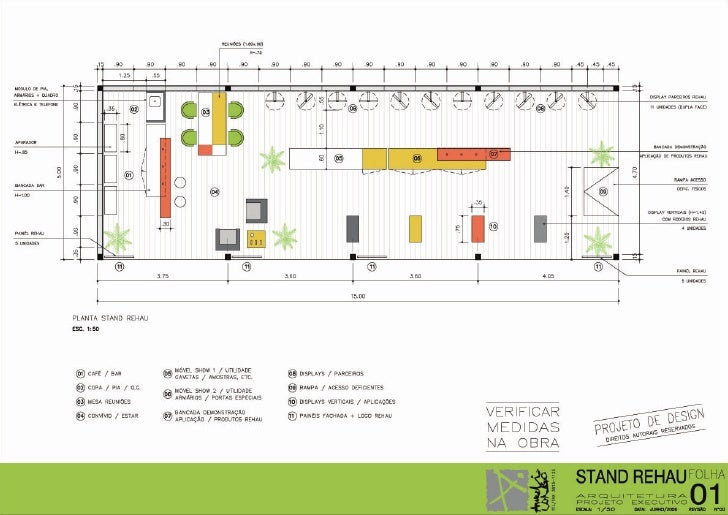 Stand Rehau AUTOCAD DRAWING