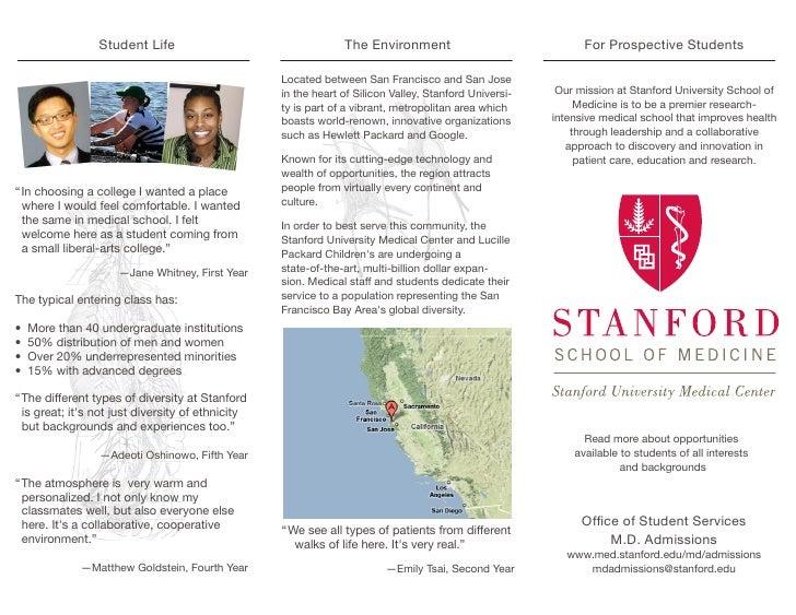 Stanford M.D. Program Brouchure 2009