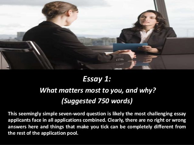Essay 750 Words