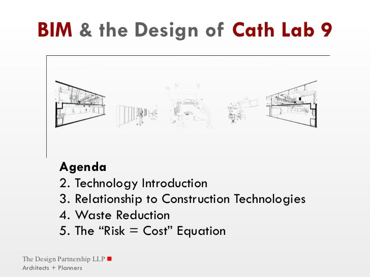 BIM  & the Design of  Cath Lab 9 <ul><li>Agenda </li></ul><ul><li>Technology Introduction </li></ul><ul><li>Relationship t...