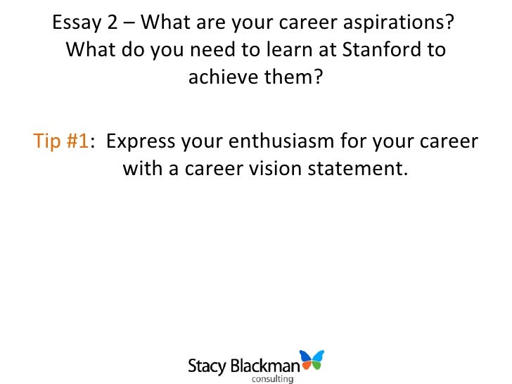 What Are Your Career Aspirations Essay