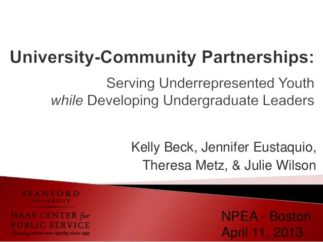 Kelly Beck, Jennifer Eustaquio, Theresa Metz, & Julie Wilson               NPEA - Boston               April 11, 2013