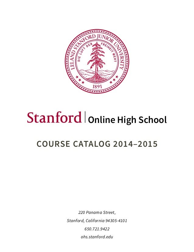 stanford online writing courses