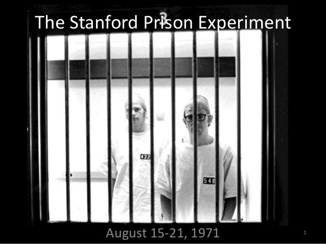 The Real Lesson of the Stanford Prison Experiment   The ...