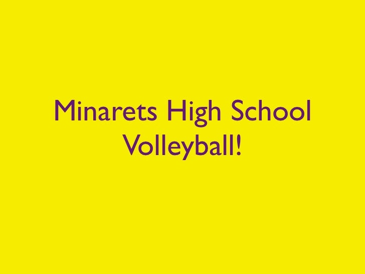 Minarets High School     Volleyball!