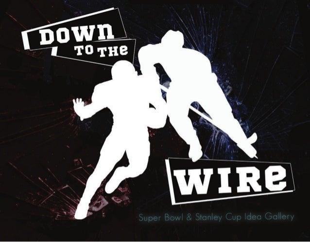 Stanley Cup & Super Bowl Idea Gallery