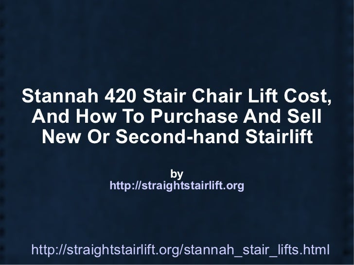 Stannah  Stairlift Prices In USA