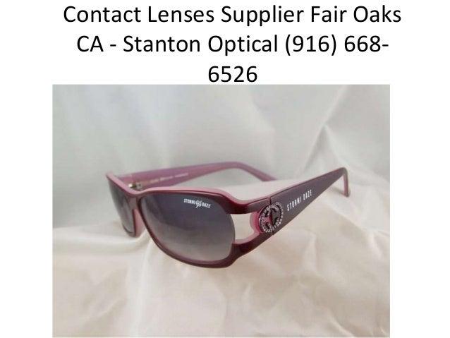 Contact Lenses Supplier Fair Oaks CA - Stanton Optical (916) 6686526