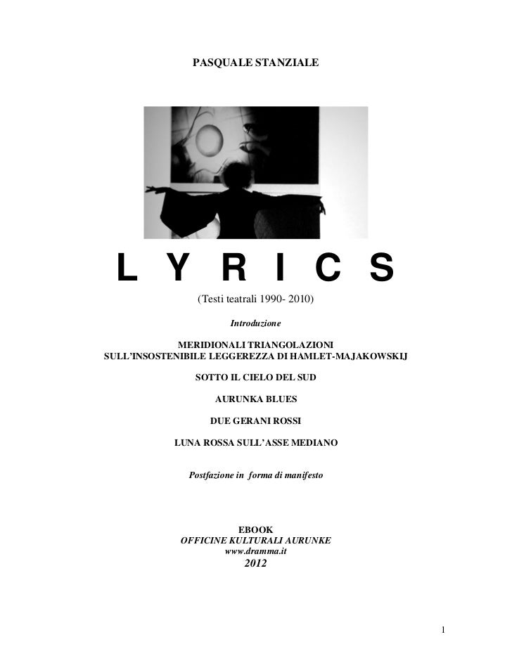 Stanziale.lyrics