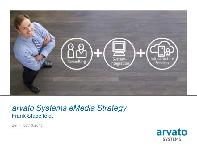 1 | arvato Systems | eMedia Strategy | 7 October 2013 PLEASE USE YOUR INDIVIDUAL PICTURE arvato Systems eMedia Strategy Fr...