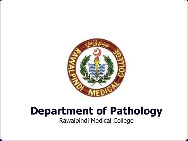 Department of Pathology Rawalpindi Medical College