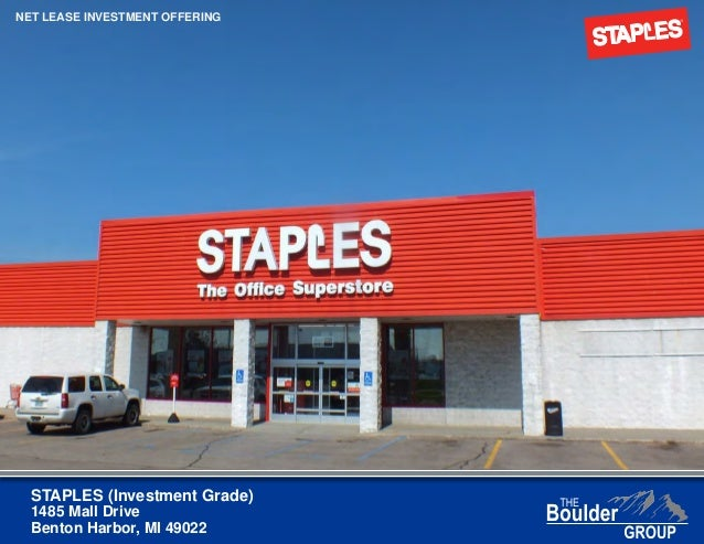 Net Lease Staples Property For Sale