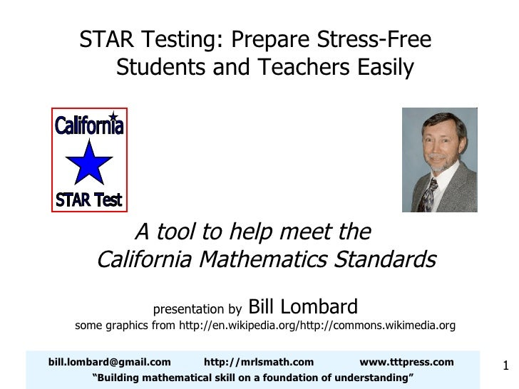 """[email_address] http://mrlsmath.com www.tttpress.com """" Building mathematical skill on a foundation of understanding"""" STAR ..."""