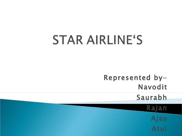 Presentatin by CBS students on Star alliance