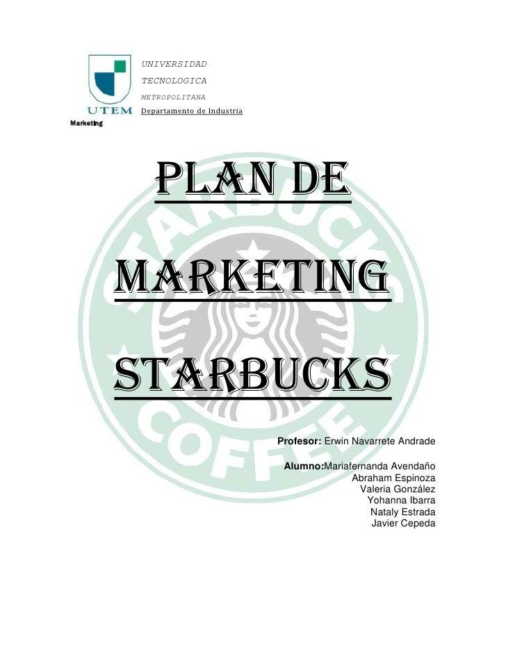 Starbuck marketing.