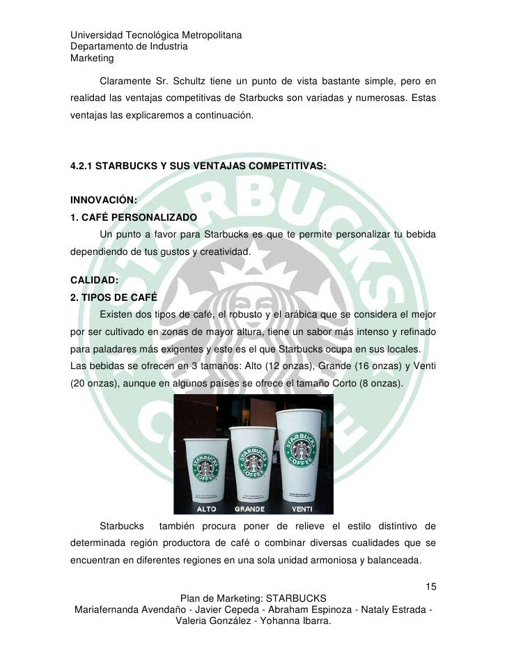 marketing essay for starbucks Starbucks has made quite a benchmark in its coffee business through thoughtful  marketing strategies despite not being very upfront in terms of.