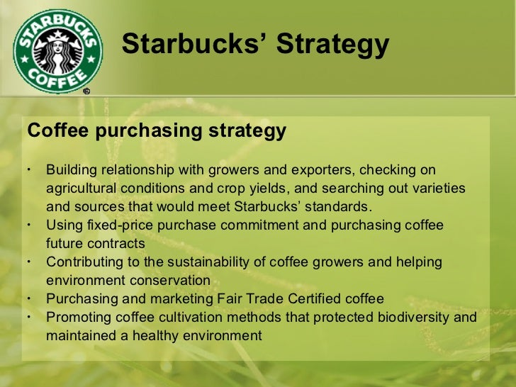 starbucks acquisition strategy Marketing strategy retailing corporate social responsibility globalisation starbucks is the essential success story of the american capitalist dream from humble beginnings in 1971 as a seattle coffee.