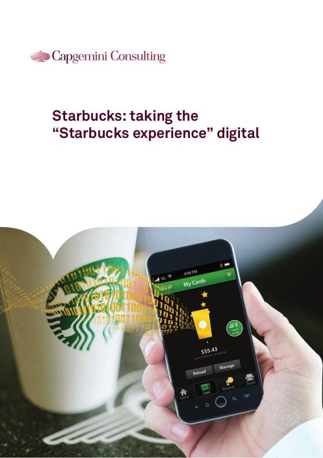 How Starbucks took their experience digital