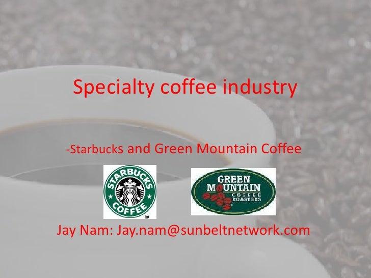 Starbucks and green mountain coffee comparison