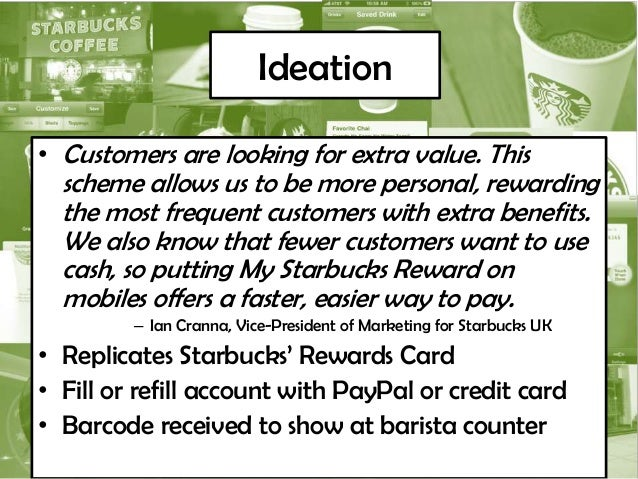technology innovation starbucks It's the same story with that other starbucks tech innovation, which i used after i  sat down with my coffee: wireless charging it's built into the.