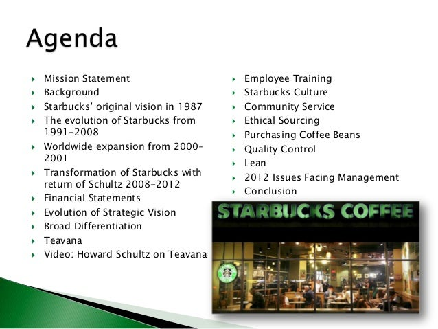 starbucks corporation research paper