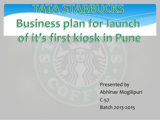 business plan starbucks coffee