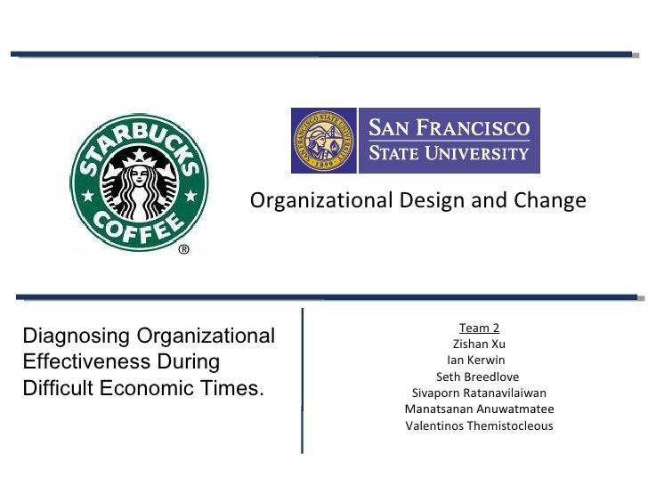 Starbucks Consulting Project