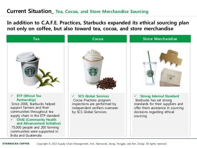 starbucks supply chain strategy Its logistics and starbucks - a years and the relationship is ever expanding due to the level of service we provide and our intimate knowledge of the starbucks supply chain this process has evolved across the us and many of the same strategies exist today saving starbucks millions.