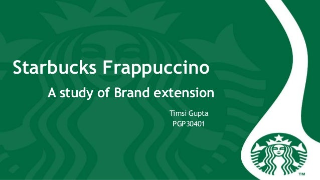 starbucks brand extension Starbucks has big plans to diversify beyond coffee  starbucks corporation is expanding its evolution brand by introducing new snack bars  starbucks announced the extension of its deal with.