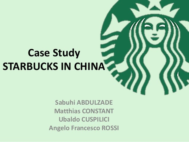 a case study of the starbucks company Starbucks coffee company is the world leading brand in roasting and distributing coffee the company owns now more than 15,000 coffee shops around the globe: it is settled in north america, latin america, europe, middle-east and asia.