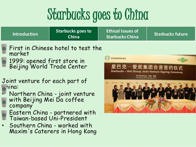 starbucks strategy in china