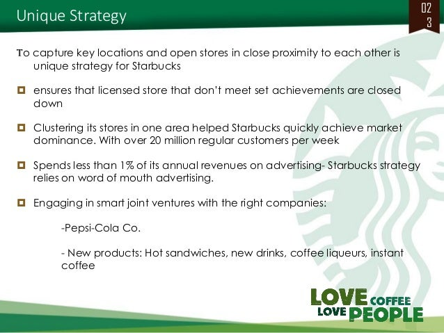 marketing strategy case study starbucks In the space of a month, coffee chain starbucks went from ubiquity to near obscurity in australia its decline meant significant losses for the company and put 700 staff out of work.