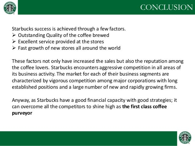 an analysis of starbucks company and the coffee experience in america Starbucks case: starbucks  is that its coffee beans are sourced from latin america,  hiring and training employees for the company starbucks considers.