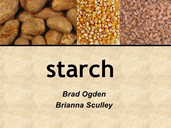 starch   Brad Ogden Brianna Sculley