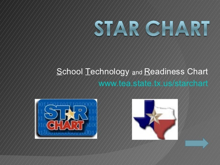 S chool  T echnology   a nd  R eadiness Chart www.tea.state.tx.us/starchart