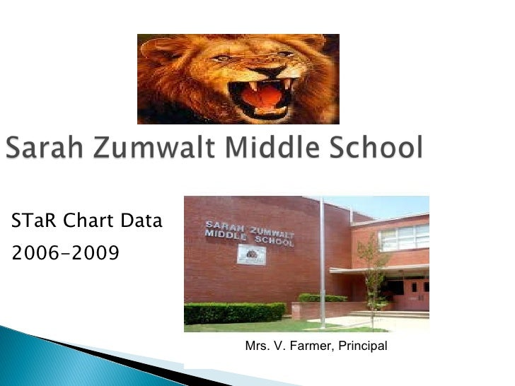 STaR Chart Data 2006-2009 Mrs. V. Farmer, Principal