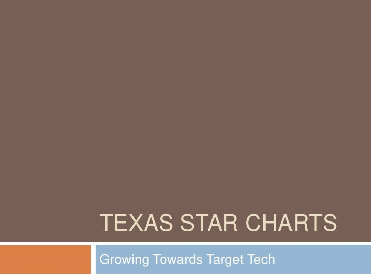 TEXAS STAR CHARTS Growing Towards Target Tech