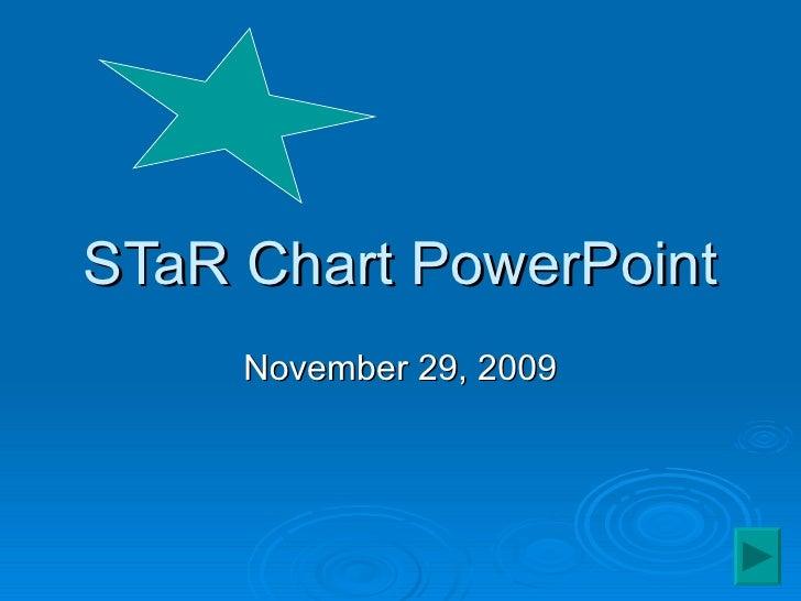 STaR Chart PowerPoint November 29, 2009