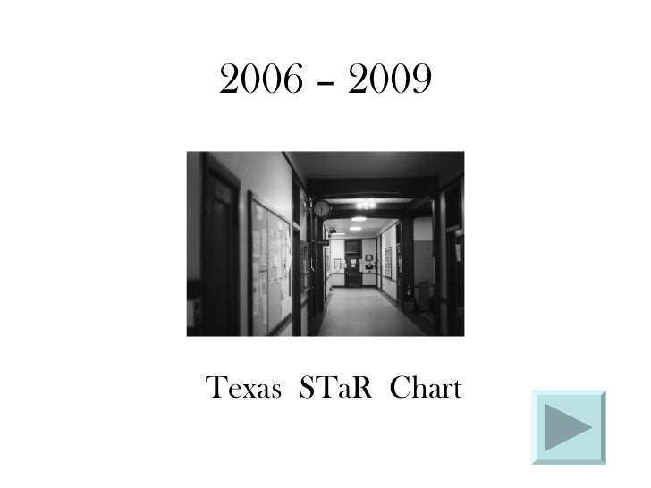 2006 – 2009 Texas  STaR  Chart