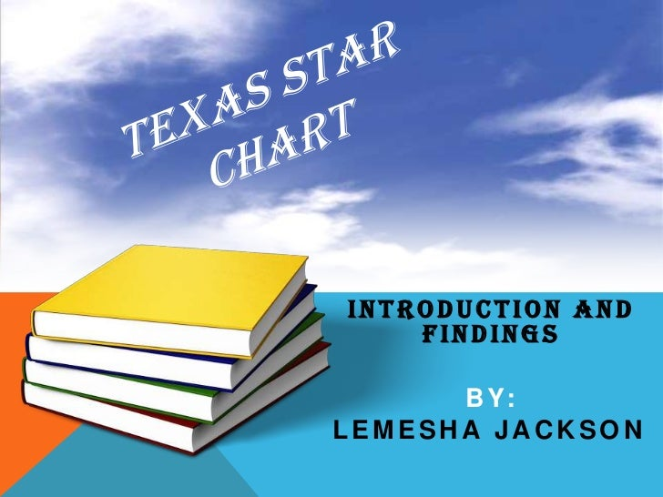 Texas STaR Chart <br />Introduction and Findings<br />By: <br />Lemesha Jackson<br />