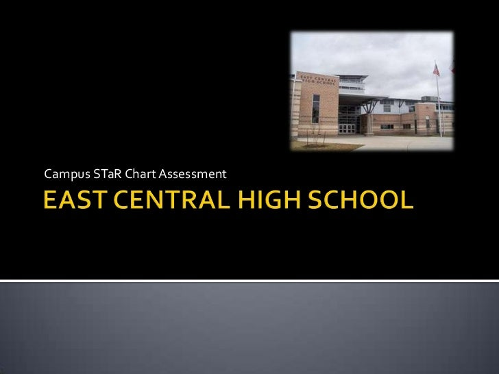 EAST CENTRAL HIGH SCHOOL<br />Campus STaR Chart Assessment<br />
