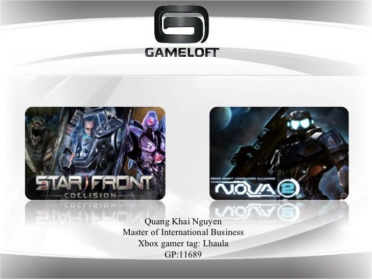 Gameloft: Recommandations for Starfront collision and Nova 2