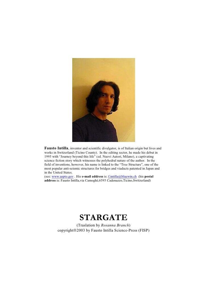 Stargate (Eng.) - WWW.OLOSCIENCE.COM