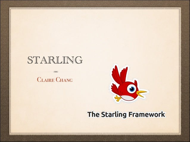 STARLING Claire Chang