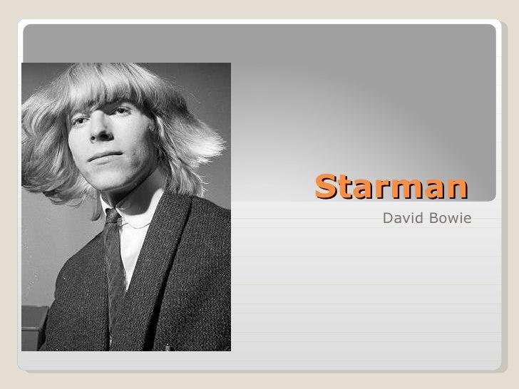 Starman  David Bowie
